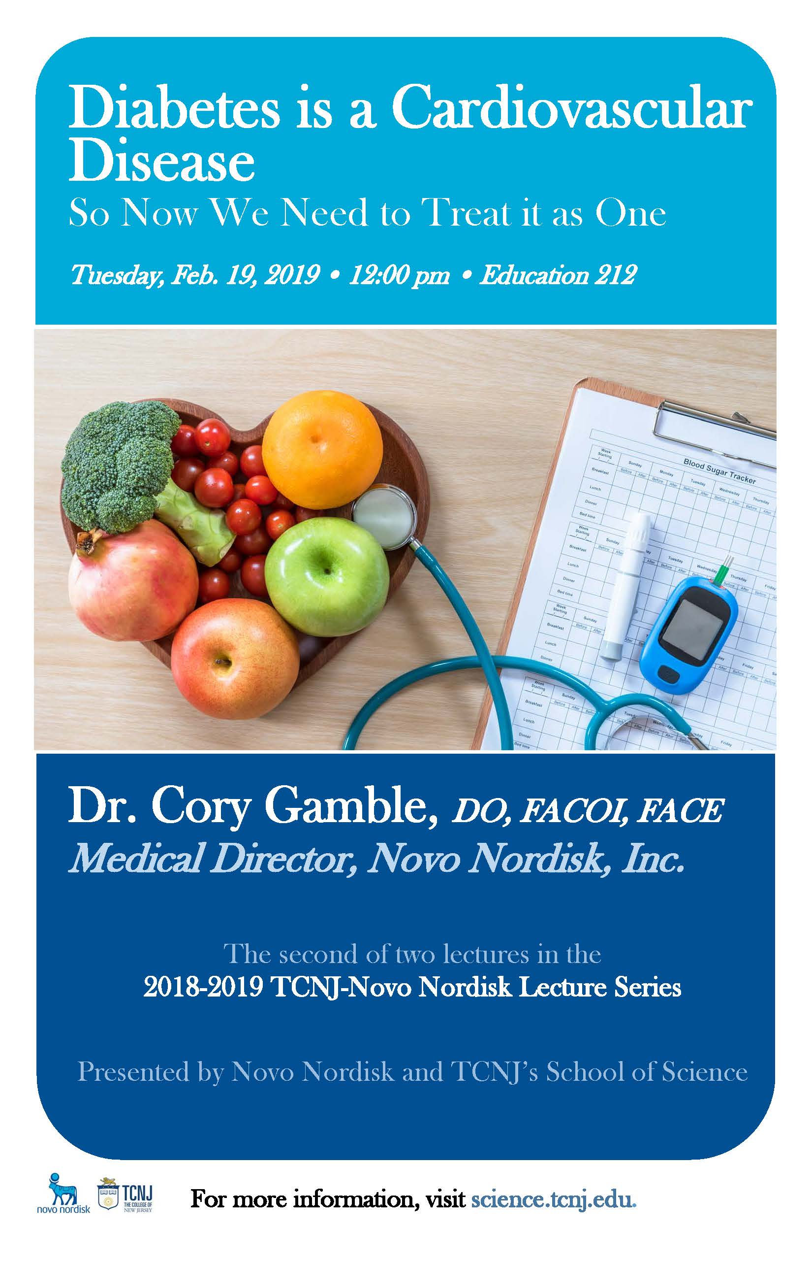 The 2018-2019 Novo Nordisk Lecture Series | School of Science